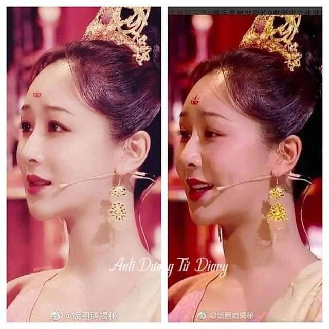 Dương Tử lộ ảnh chưa chỉnh sửa khi hóa công chúa thời Đường, fan vẫn hết lời khen ngợi: Mũm mĩm tí lại xinh! - Ảnh 5.