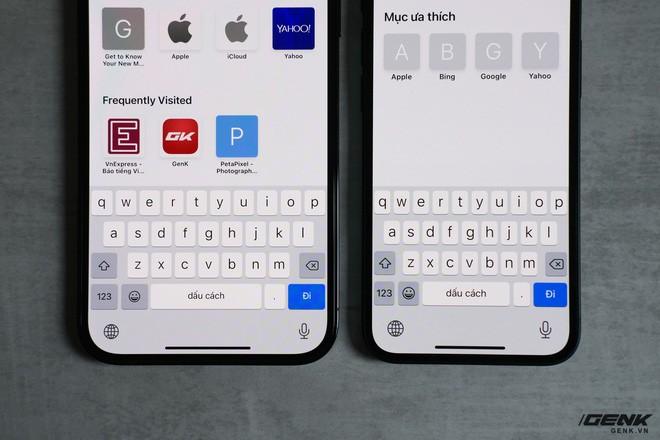 Trên tay chiếc iPhone bị người Việt ghẻ lạnh năm nay: Nhỏ tẹo bằng bàn tay, dùng một tay thì sướng, hai tay thì... sượng - ảnh 18