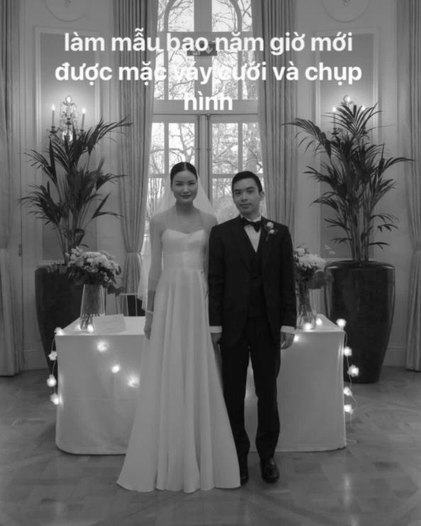 Á quân Next Top Chà Mi bất ngờ tung ảnh cưới tại Anh Quốc: Nàng mẫu diện váy cưới giản dị, đầy rạng rỡ bên bạn trai gốc Hoa - Ảnh 4.