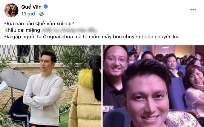 Que Van was angry when he was called anh Vietnam fools to go for plastic surgery, the actor's ex-wife's reaction caught the attention - Photo 2.