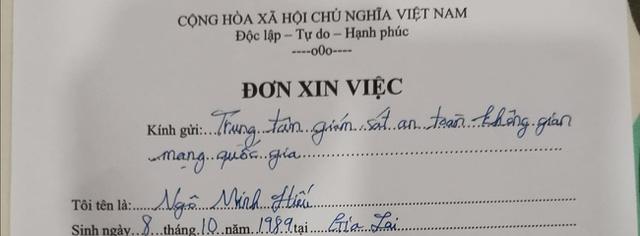 """Vừa trở về Việt Nam sau 7 năm ngồi tù ở Mỹ, hacker """"Hieupc"""" đã trúng tuyển vào trung tâm an ninh mạng quốc gia - ảnh 2"""