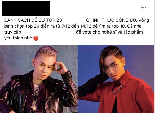 K-ICM lọt đề cử giải thưởng âm nhạc với Hoa Vô Sắc, netizen phẫn nộ yêu cầu BTC xem xét lại vì đây là bản demo của Jack - Ảnh 3.