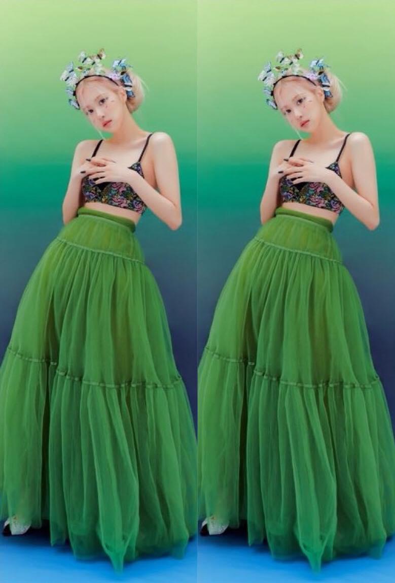 Rosé diện váy H&M mà xịn bất ngờ, còn khéo cắt váy khoe body  - Ảnh 2.