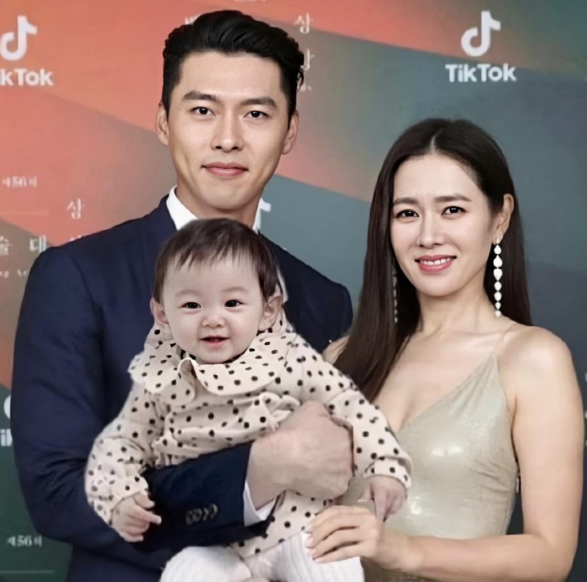 Dự đoán chân dung con của Hyun Bin - Son Ye Jin: Đúng là em bé của cặp đôi đẹp nhất Kbiz! - Ảnh 3.