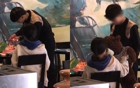 Tổ chức tiệc sinh nhật cho bạn gái, nam sinh chỉ làm hành động nhỏ liền được khen ngợi ngoan ngoãn hết lời