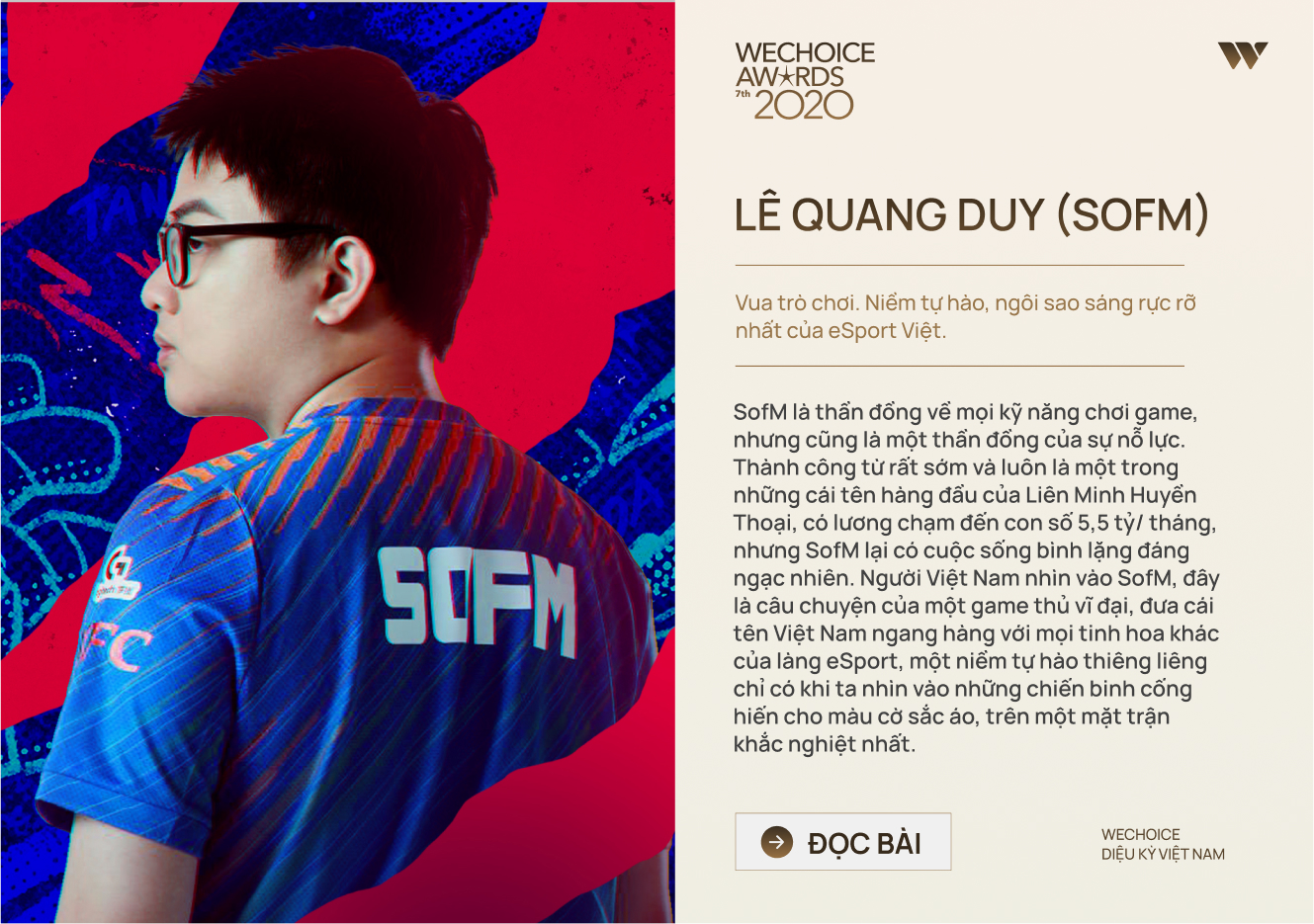 20 đề cử nhân vật truyền cảm hứng của WeChoice Awards 2020: Những câu chuyện tạo nên Diệu kỳ Việt Nam - Ảnh 11.