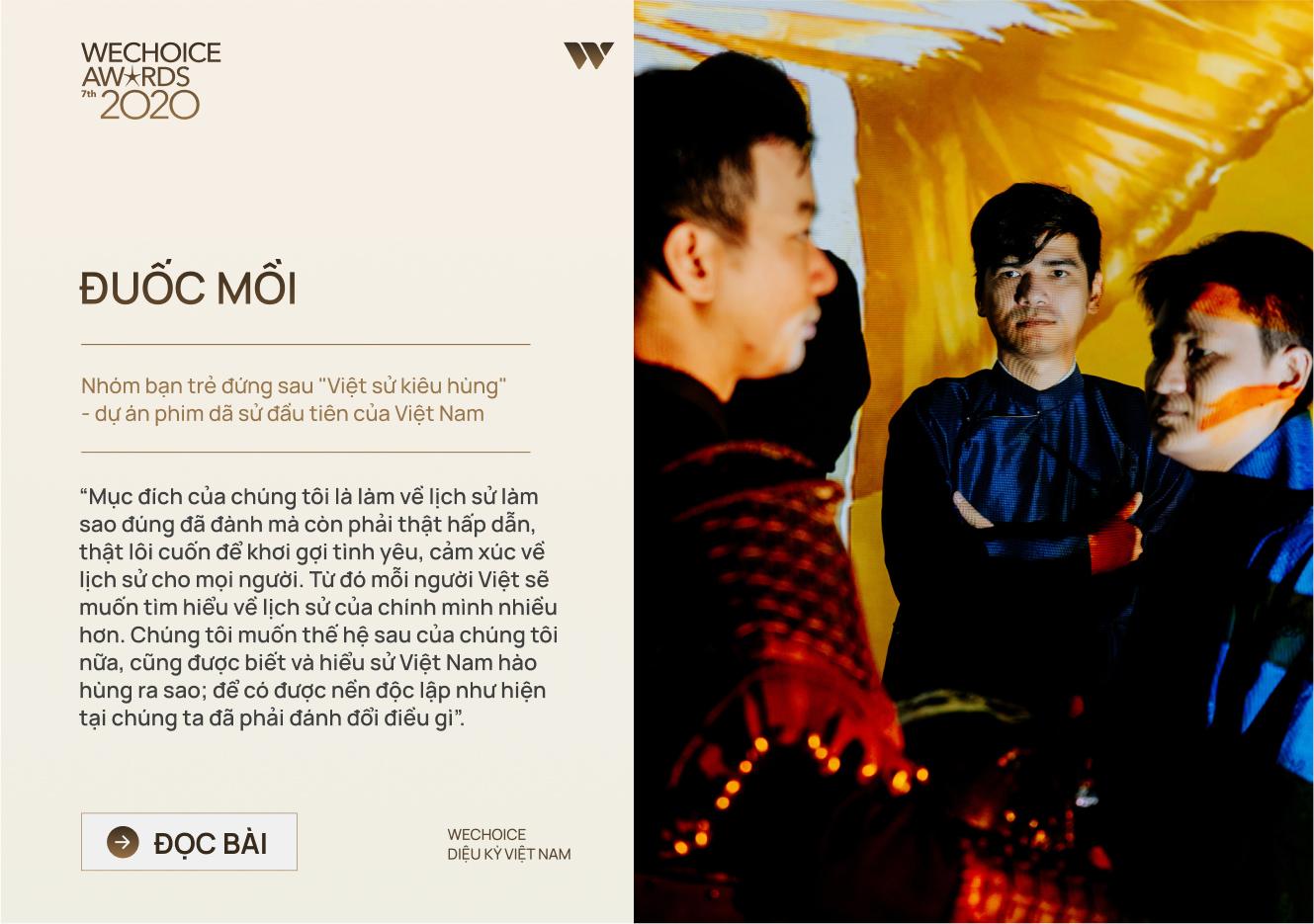 20 đề cử nhân vật truyền cảm hứng của WeChoice Awards 2020: Những câu chuyện tạo nên Diệu kỳ Việt Nam - Ảnh 19.