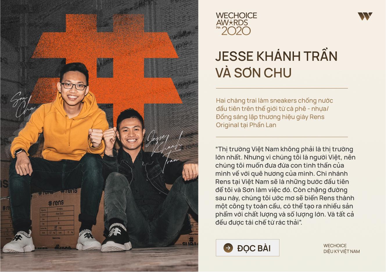 20 đề cử nhân vật truyền cảm hứng của WeChoice Awards 2020: Những câu chuyện tạo nên Diệu kỳ Việt Nam - Ảnh 4.