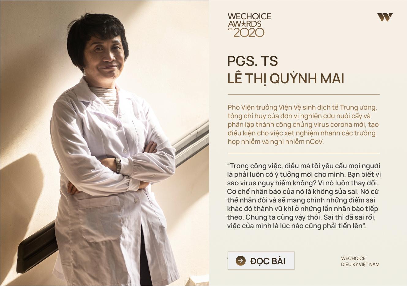 20 đề cử nhân vật truyền cảm hứng của WeChoice Awards 2020: Những câu chuyện tạo nên Diệu kỳ Việt Nam - Ảnh 7.