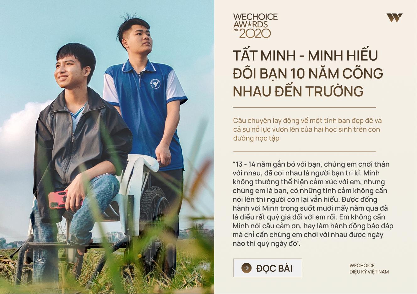 20 đề cử nhân vật truyền cảm hứng của WeChoice Awards 2020: Những câu chuyện tạo nên Diệu kỳ Việt Nam - Ảnh 10.