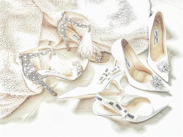 Ngọc Trinh khoe ảnh nude trong bồn tắm nhưng đôi giày công chúa 120 triệu lại là thứ khiến netizen lo lắng - ảnh 8