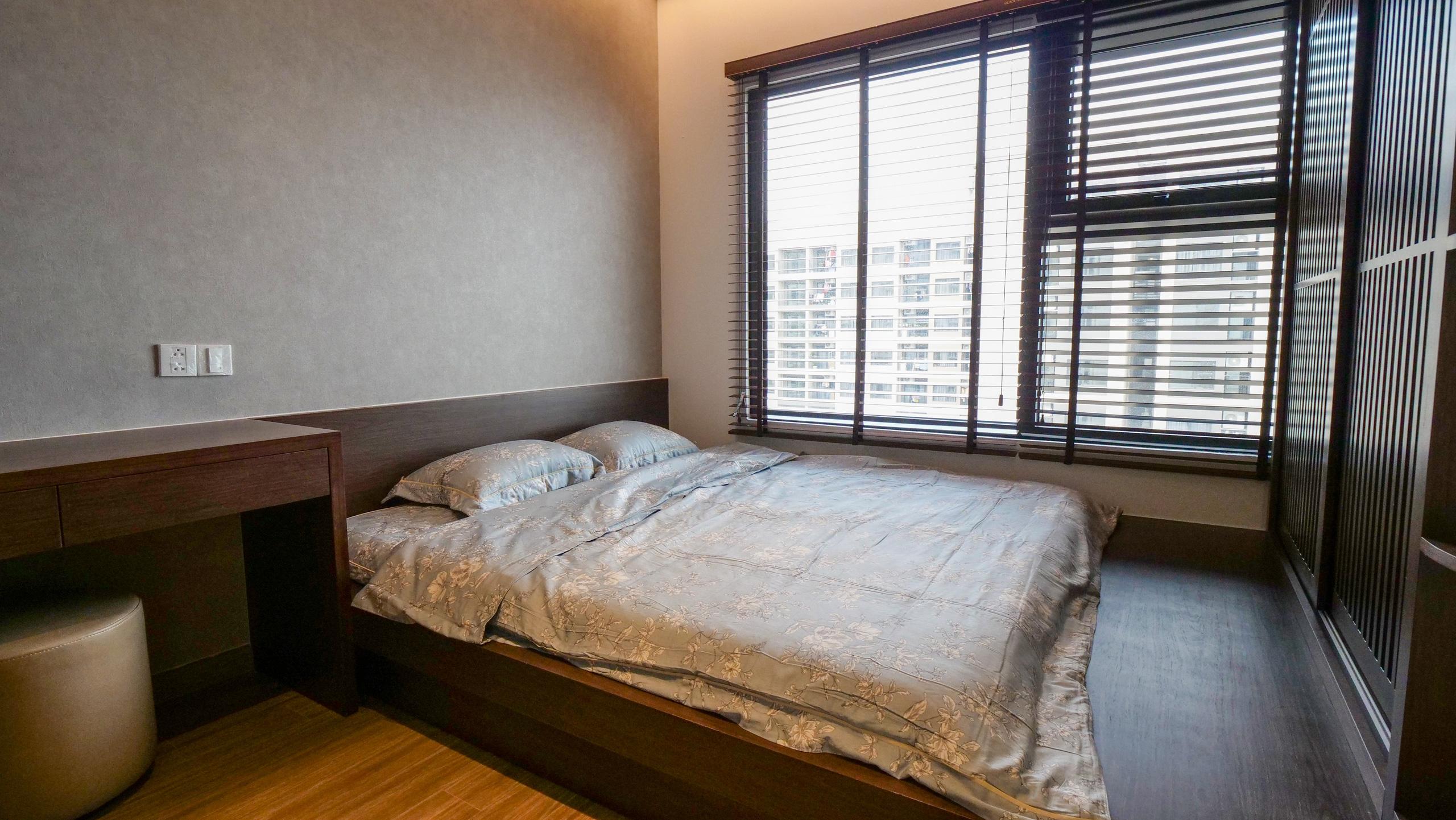 Căn hộ Vinhomes với phong cách Nhật Bản tinh tế và tiện nghi, ăn tiền nhất là view đắt giá bao trọn VinUni - Ảnh 9.