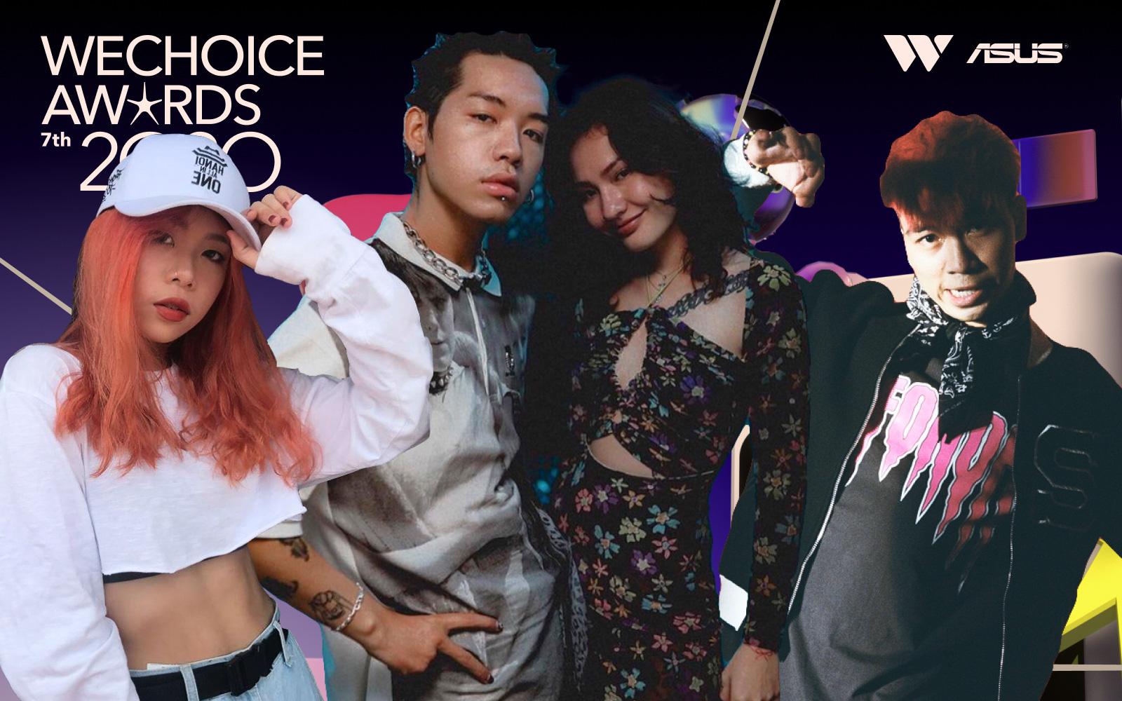 """Những gương mặt GenZ """"đánh chiếm"""" làng Rap/Hip-hop Việt 2020"""