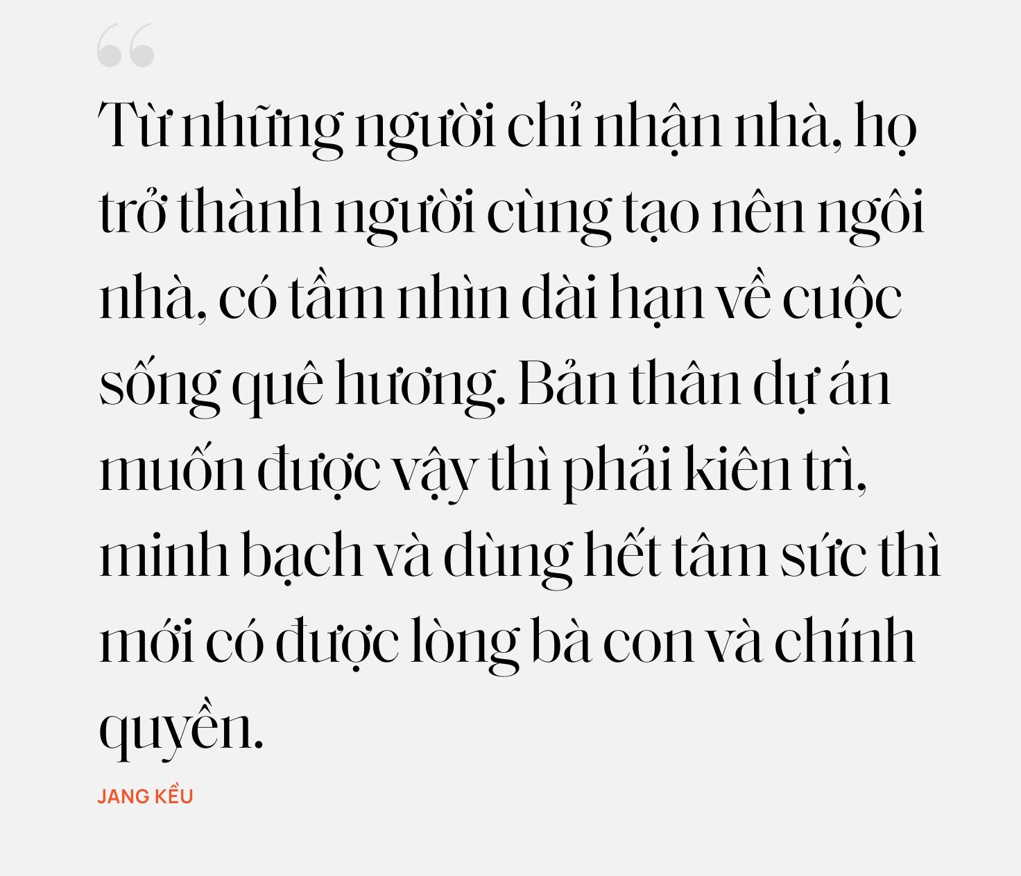 """Jang Kều, người phụ nữ đứng đằng sau dự án Nhà Chống Lũ: Từng từ chối 75 tỷ vì muốn thay đổi tư duy """"cho - nhận"""" trong từ thiện - Ảnh 22."""