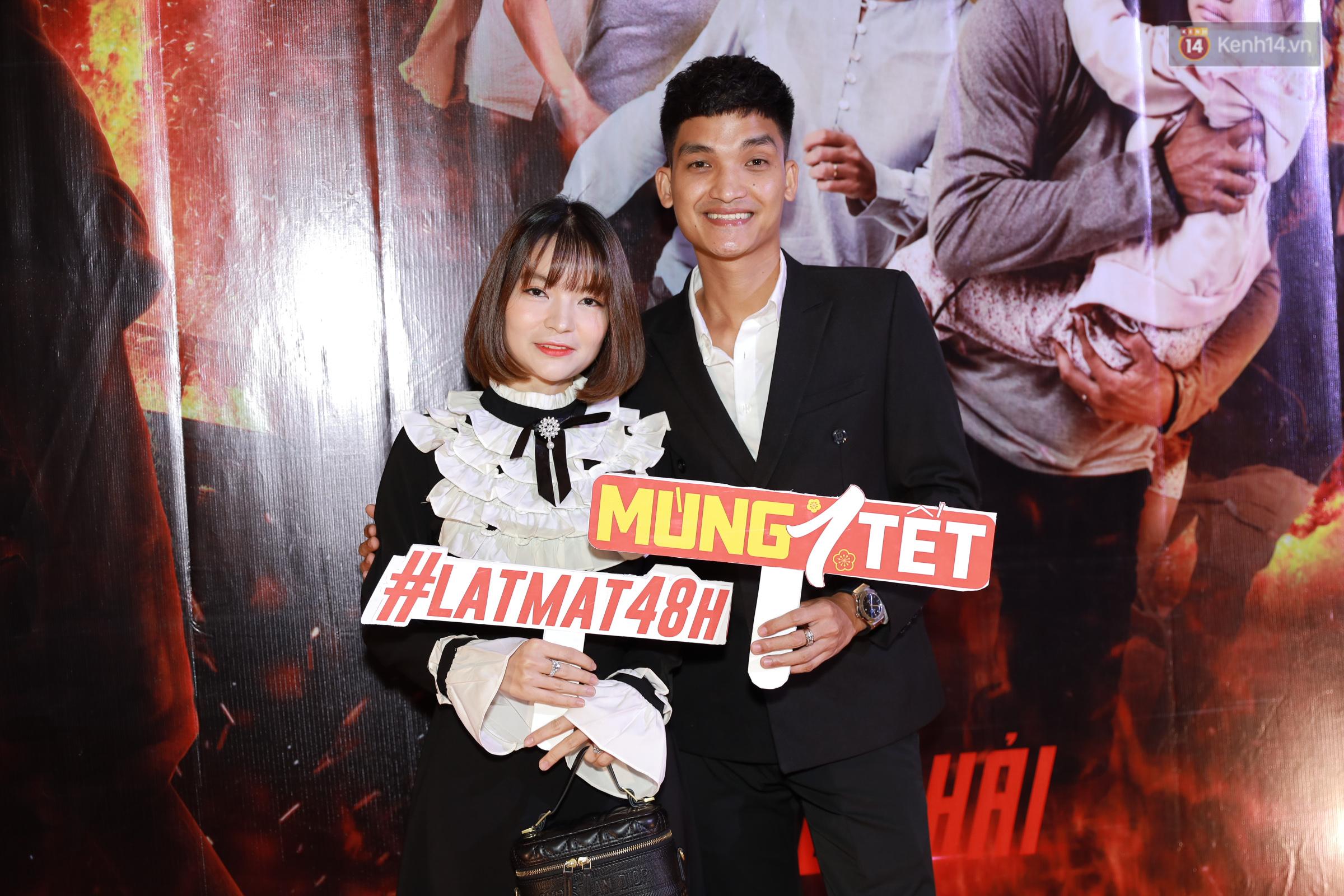 Mạc Văn Khoa xuất hiện ngọt ngào bên vợ mới cưới, bộ đôi Lý Hải - Minh Hà bám nhau tình tứ ở buổi ra mắt phim Tết Lật Mặt - Ảnh 7.