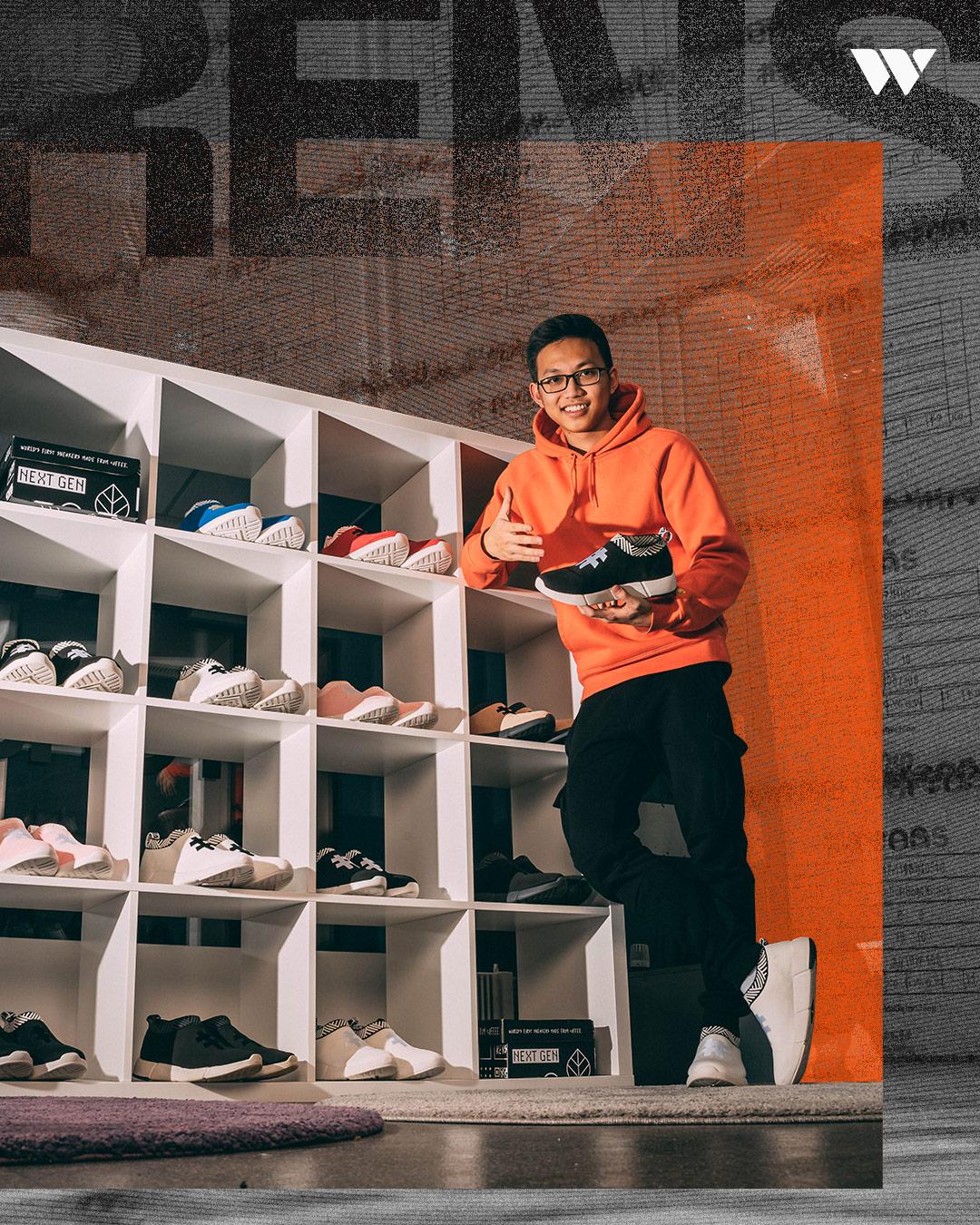Jesse Khánh Trần và Sơn Chu: Bước ra thế giới với những đôi giày làm từ bã cafe và chai nhựa - Ảnh 17.