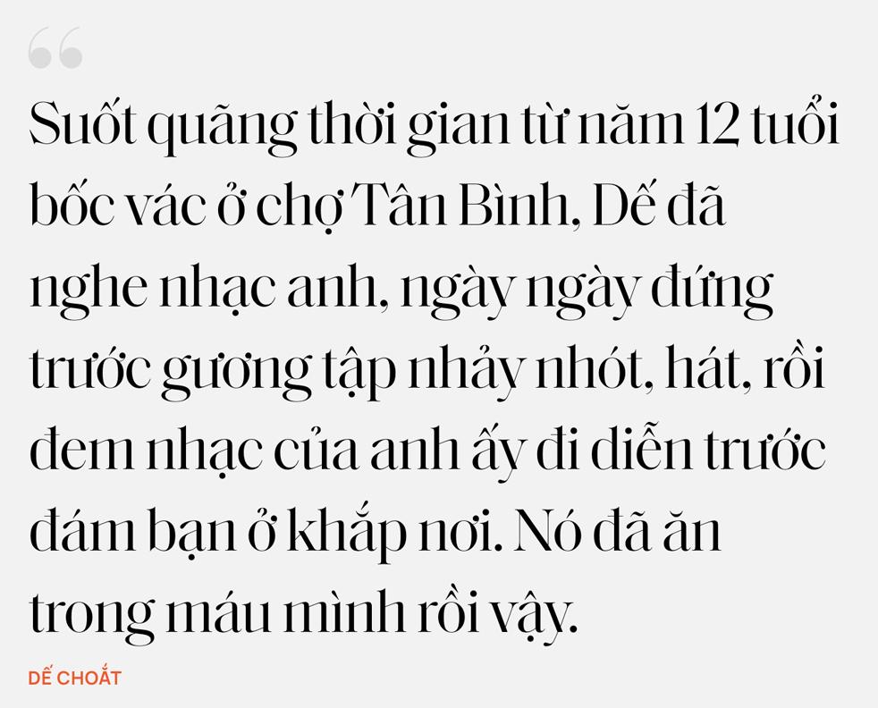 """Nhân duyên tiền định của Dế Choắt và Wowy: """"12 tuổi tôi đã xăm câu hát của thần tượng Wowy lên người"""" - Ảnh 12."""