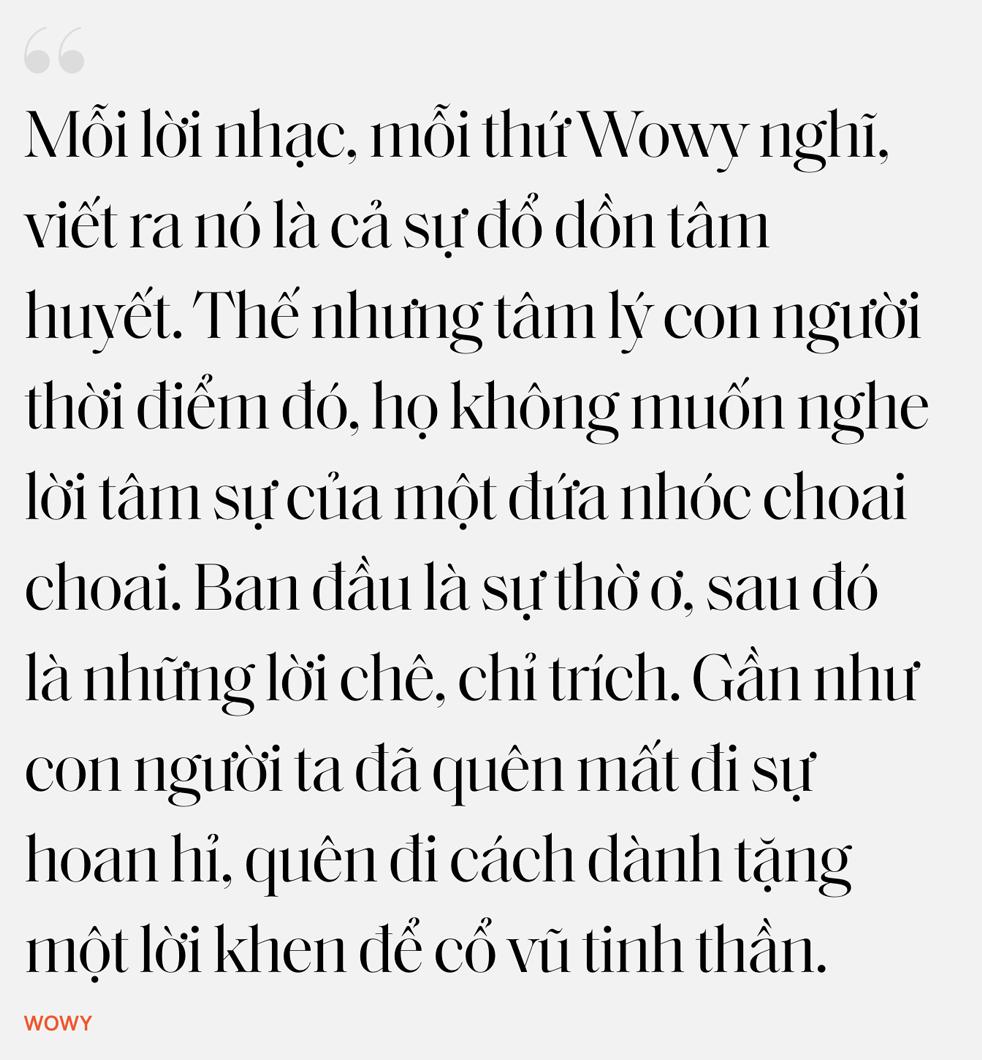 """Nhân duyên tiền định của Dế Choắt và Wowy: """"12 tuổi tôi đã xăm câu hát của thần tượng Wowy lên người"""" - Ảnh 22."""