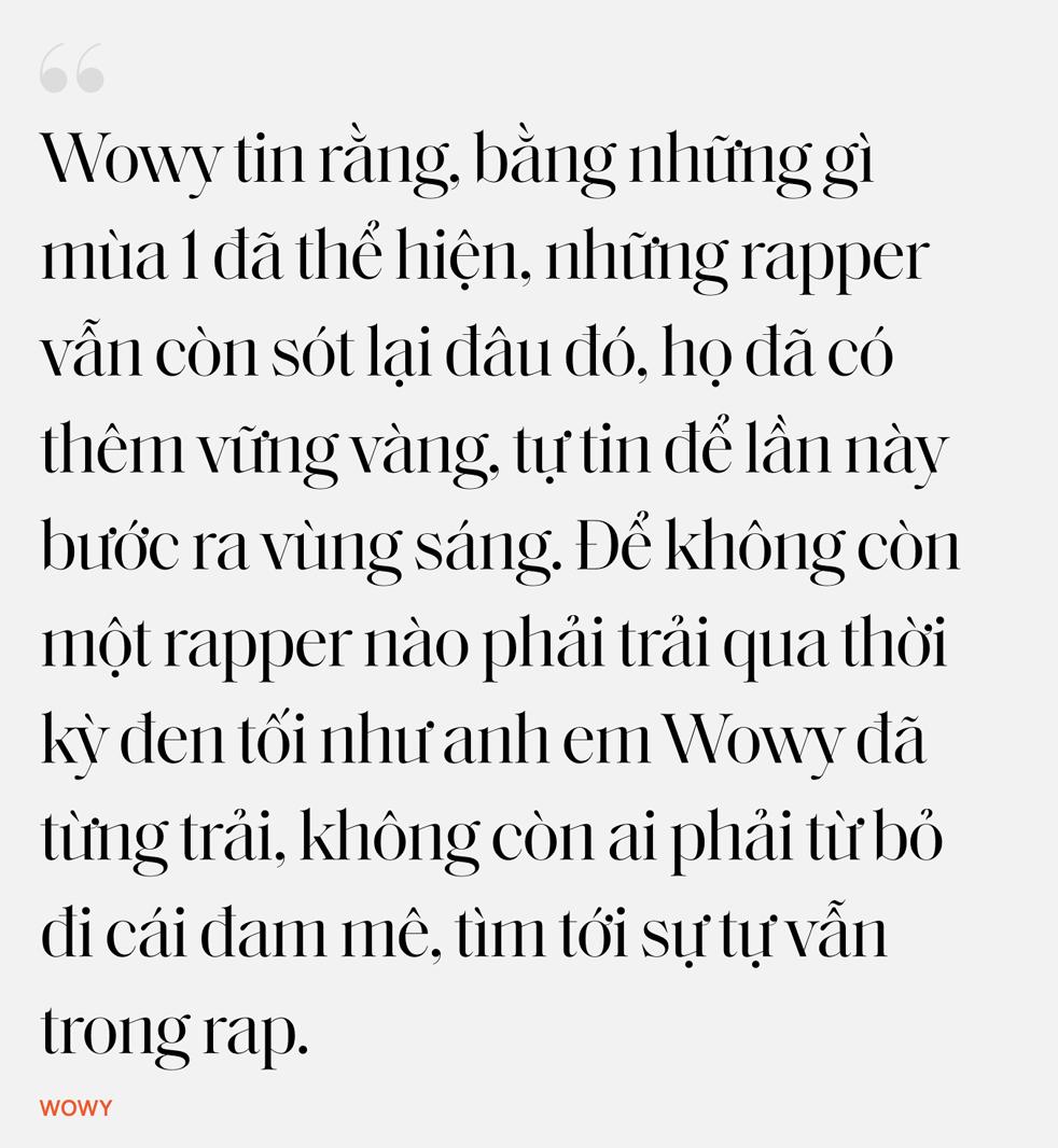 """Nhân duyên tiền định của Dế Choắt và Wowy: """"12 tuổi tôi đã xăm câu hát của thần tượng Wowy lên người"""" - Ảnh 28."""