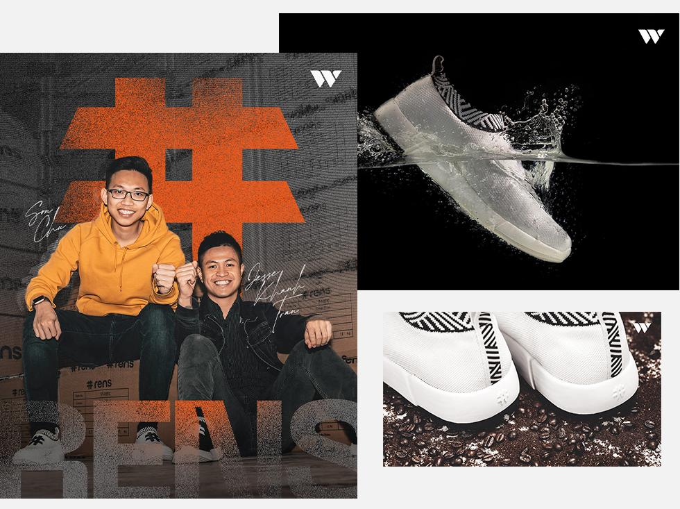 Jesse Khánh Trần và Sơn Chu: Bước ra thế giới với những đôi giày làm từ bã cafe và chai nhựa - Ảnh 4.
