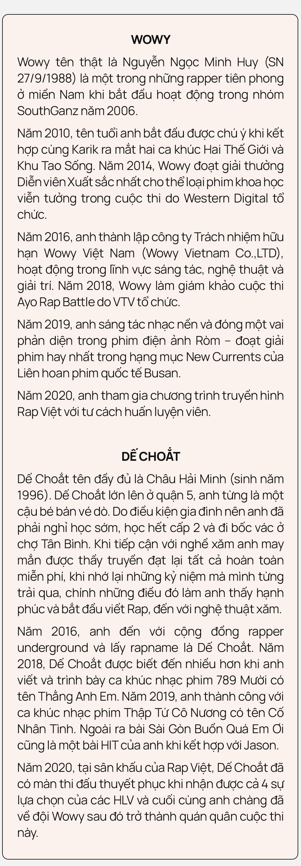 """Nhân duyên tiền định của Dế Choắt và Wowy: """"12 tuổi tôi đã xăm câu hát của thần tượng Wowy lên người"""" - Ảnh 2."""