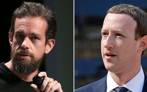 Quyết định Khóa tài khoản Tổng thống Trump vĩnh viễn đã thổi bay tổng cộng 51 tỷ USD vốn hóa thị trường của Facebook và Twitter - ảnh 1