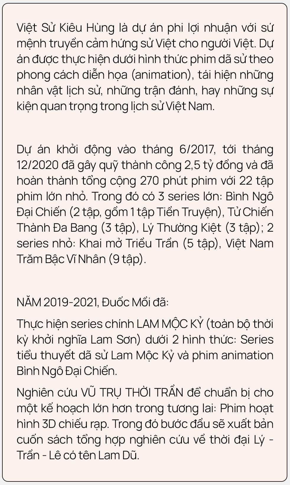 """Nhóm Đuốc Mồi và Việt sử kiêu hùng: """"Nói giới trẻ quay lưng với lịch sử là không đúng, thành công của Bình Ngô Đại Chiến chính là minh chứng"""" - Ảnh 2."""
