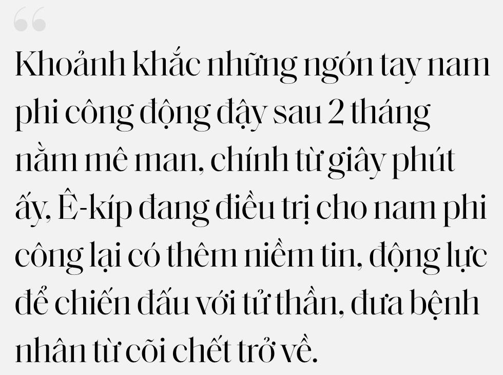 """Ký ức 116 ngày làm nên kỳ tích của nền y học Việt Nam, đưa bệnh nhân 91 nhiễm Covid-19 từ cõi chết trở về: """"Đó là điều đặc biệt nhất trong cuộc đời bác sĩ của chúng tôi"""" - Ảnh 15."""