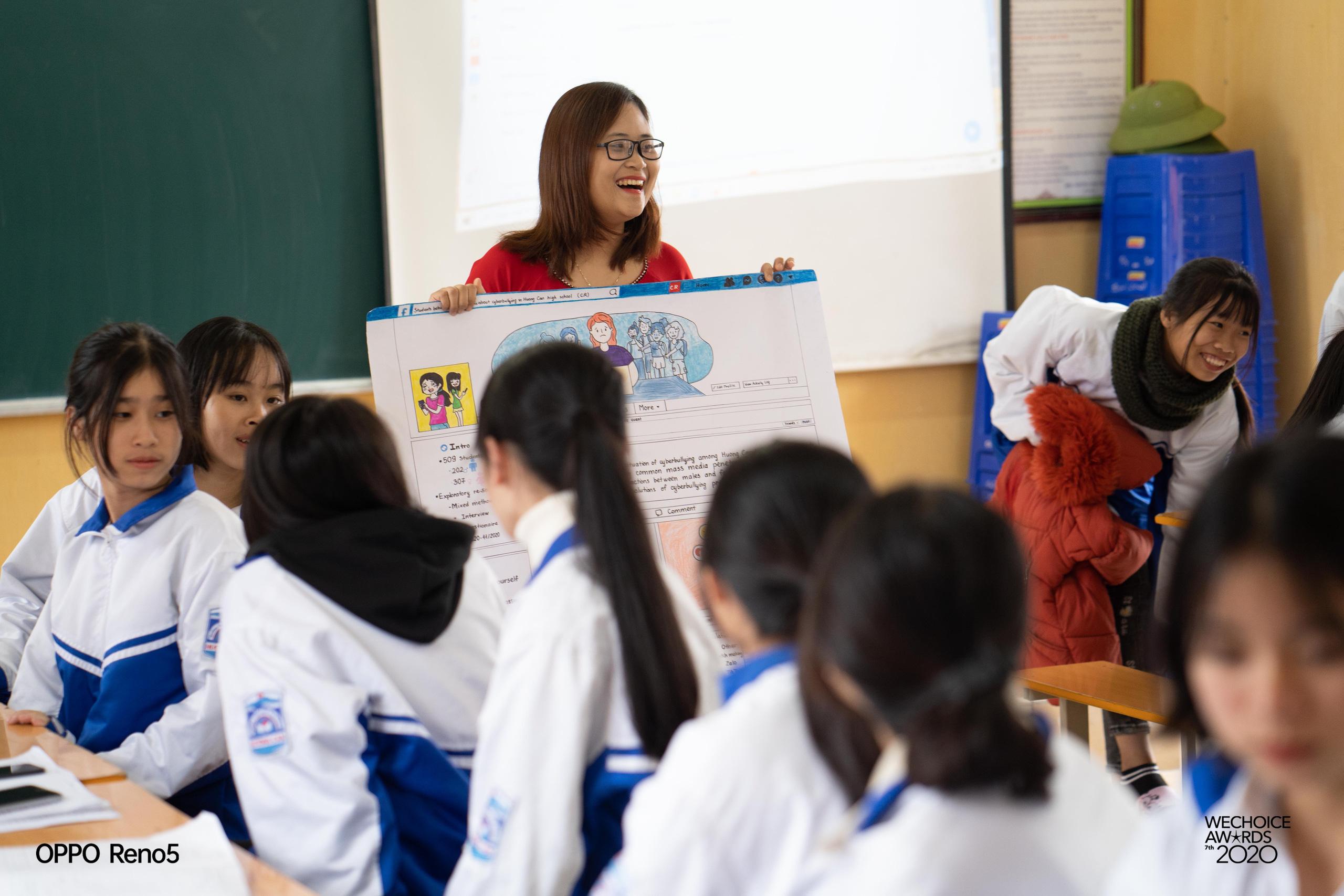 """Cô giáo Việt Nam đầu tiên vào Top 10 giáo viên toàn cầu: """"Thành phố hay nông thôn không phải rào cản, sự ngừng học của giáo viên mới chính là tụt hậu"""" - Ảnh 3."""