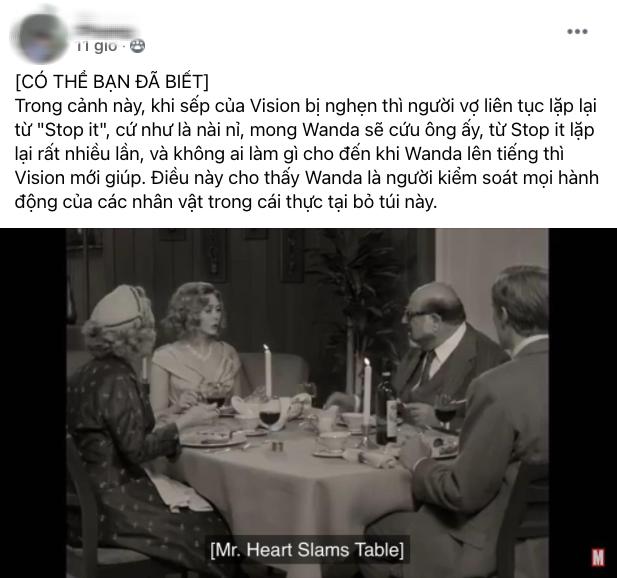 Netizen Việt bùng nổ vì WandaVision quá đỉnh: Vừa hài, vừa cuốn nhưng có một chi tiết xem mà hãi hùng! - ảnh 6