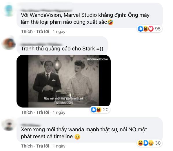 Netizen Việt bùng nổ vì WandaVision quá đỉnh: Vừa hài, vừa cuốn nhưng có một chi tiết xem mà hãi hùng! - ảnh 8