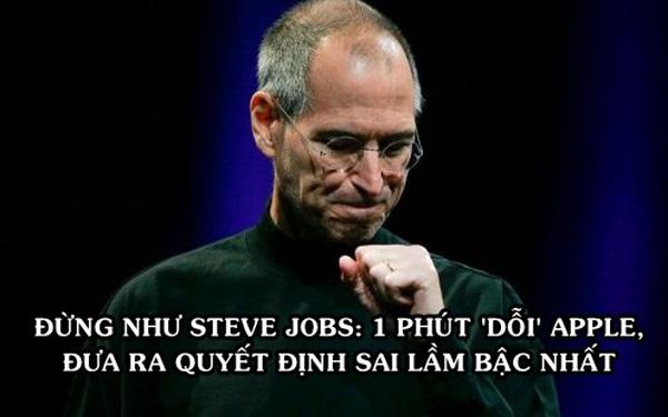 Sai lầm khiến Steve Jobs mất 31,6 tỷ USD, không lọt top 50 người giàu nhất dù điều hành đế chế giá trị nhất hành tinh - ảnh 1