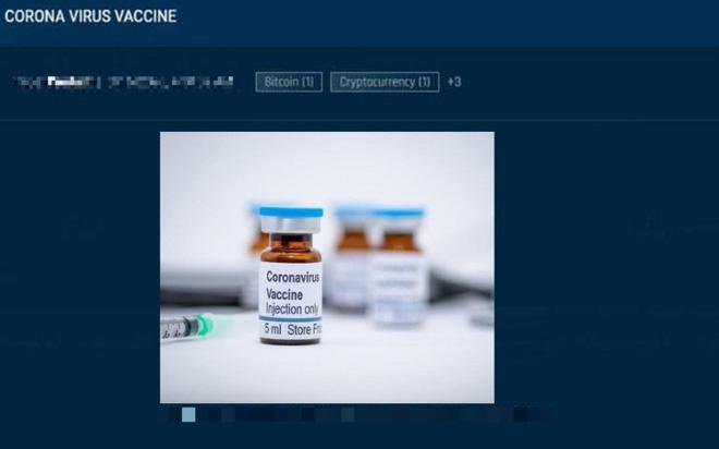 Lợi dụng tâm lý sợ hãi, những kẻ lừa đảo hét giá mua vắc-xin Covid-19 trên dark web lên tới 1000 USD bằng đồng bitcoin - ảnh 3
