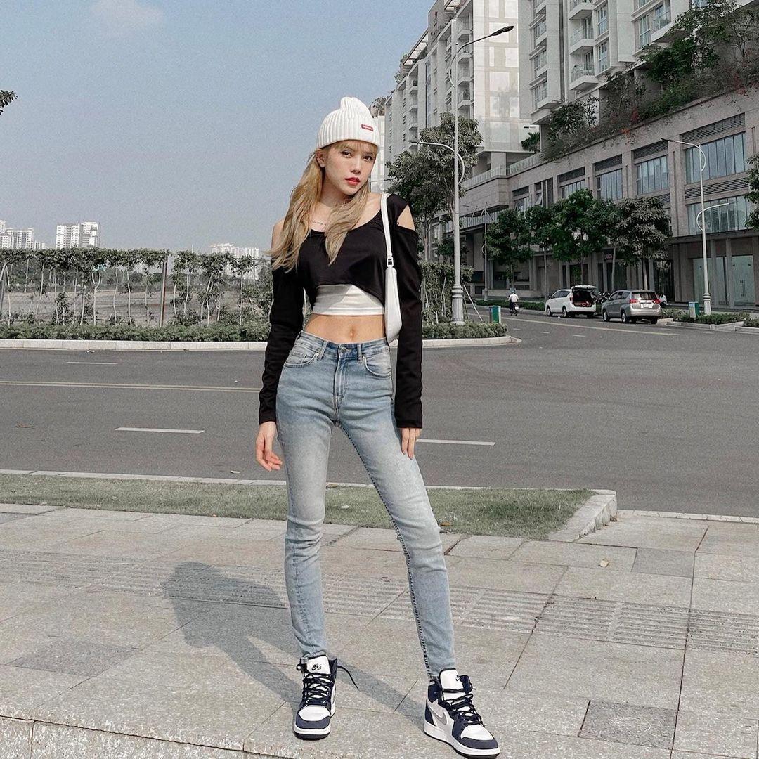 Instagram look của sao Việt tuần qua: Đại hội khoe eo của Thiều Bảo Trâm, Chi Pu, Lan Ngọc - Ảnh 7.