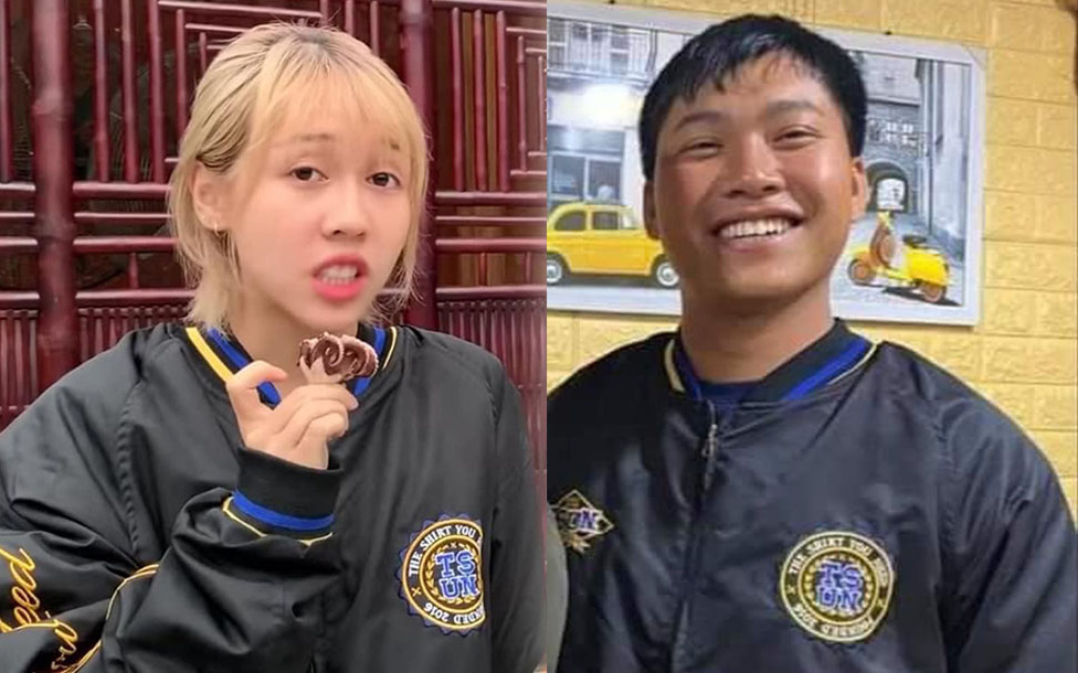 Thuyền lại ra khơi: Netizen phát hiện Hậu Hoàng & Mũi trưởng Long... diện chung 1 chiếc áo