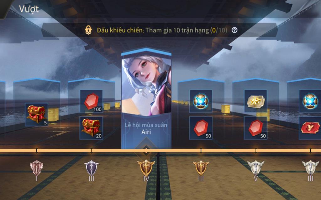 Liên Quân Mobile: Tất tần tật về reset rank mùa 17, skin thưởng hạng đã được hé lộ!