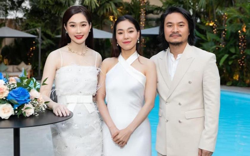 Đặng Thu Thảo tái xuất xinh đẹp đỉnh cao trong buổi tụ họp, Đạo diễn HHVN bỗng hé lộ cuộc sống hôn nhân của nàng Hậu