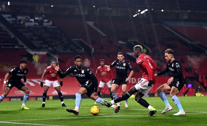 Bruno Fernandes và Pogba tỏa sáng giúp MU bằng điểm đội đầu bảng Liverpool - Ảnh 3.