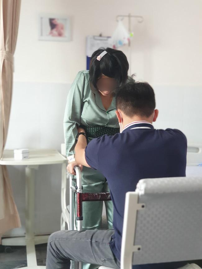 Vợ bị liệt nửa người sau sinh, chồng bức xúc tố bệnh viện phụ sản ở TP.HCM tự ý gây tê dẫn đến sai sót - Ảnh 3.