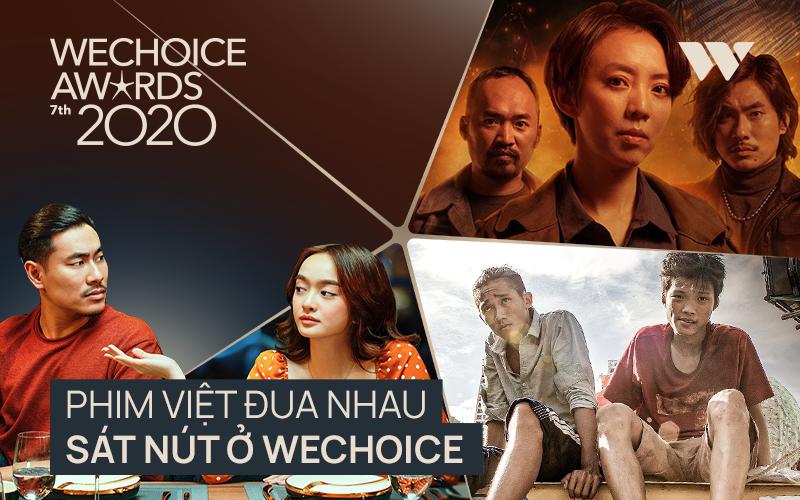 Phim Việt đuổi nhau sát nút ở WeChoice Awards 2020: Thu Trang tự cho mình ngửi khói, dàn bom tấn ganh nhau từng vote quá căng! - Ảnh 1.