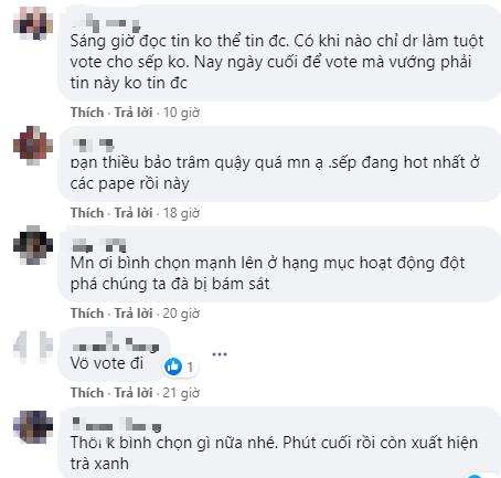 Sky lập hashtag #ImHereForYou, kêu gọi nhau không quan tâm đến biến với Thiều Bảo Trâm mà hãy tập trung vote tại WeChoice! - Ảnh 5.