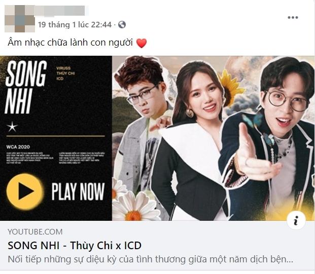 Netizen khen hết lời ca khúc Song Nhi: Thùy Chi hát như rót mật vào tai, ICD chơi vần quá hay, đây là sáng tác ý nghĩa nhất của ViruSs - Ảnh 7.
