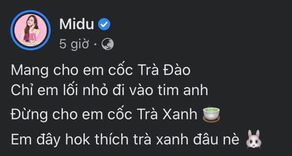 Midu bất ngờ bóng gió chuyện trà xanh, netizen nhắc ngay vụ lùm xùm Tuesday Thuý Vi và Phan Thành 6 năm trước - ảnh 1