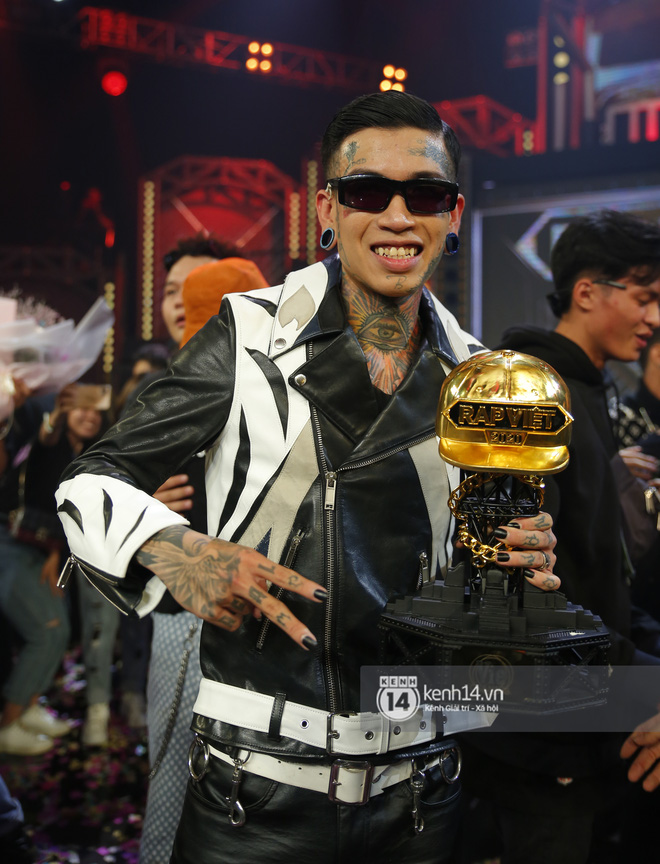 Rap Việt chính thức đạt giải TV Show của năm tại WeChoice Awards 2020! - ảnh 4