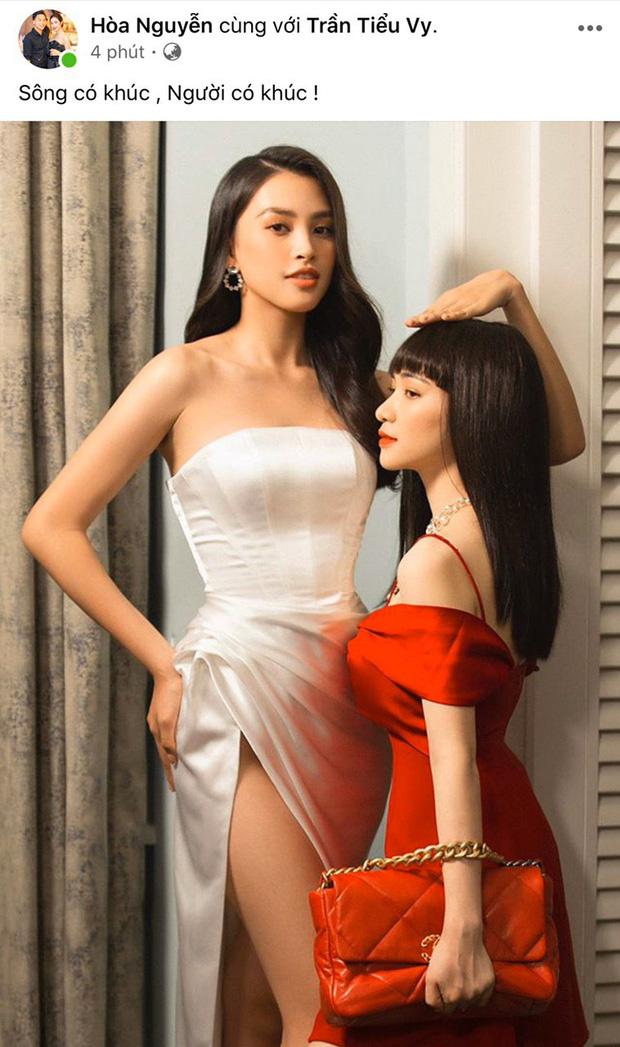 Hoà Minzy như người tý hon lọt thỏm giữa dàn hậu Miss Universe ở gala WeChoice 2020: Chân dài tới nách là có thật! - ảnh 3