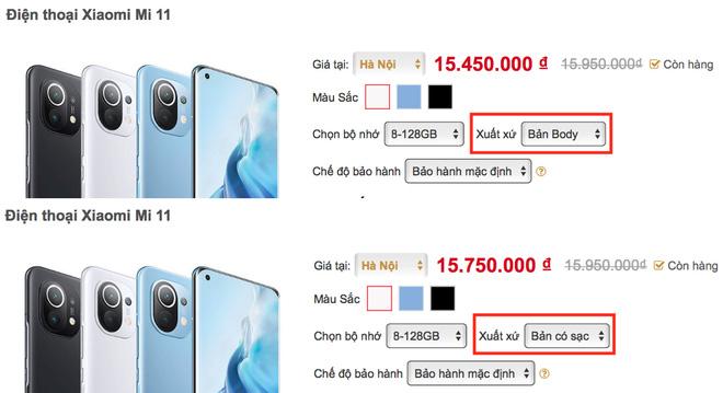 Mua Xiaomi Mi 11 tại VN, người dùng buộc phải bảo vệ môi trường - ảnh 3
