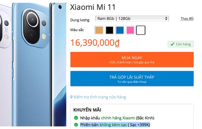 Mua Xiaomi Mi 11 tại VN, người dùng buộc phải bảo vệ môi trường - ảnh 4