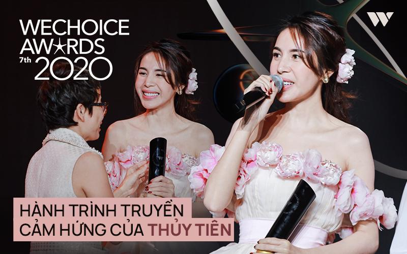 Thủy Tiên - Nghệ sĩ có hoạt động nổi bật tại WeChoice Awards và hành trình năm 2020 đầy cảm hứng