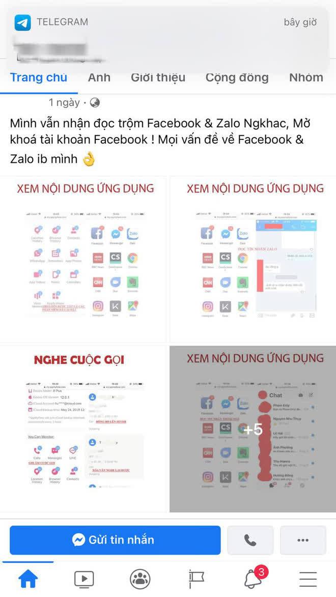 Cảnh báo dịch vụ hack Facebook, Zalo truy tìm trà xanh, xem chừng hành vi vi phạm pháp luật! - ảnh 5