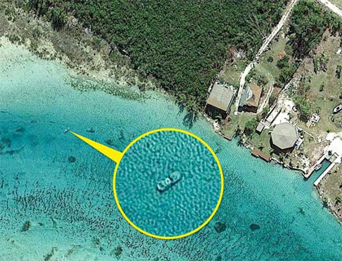 Những hình ảnh bí ẩn, càng tưởng tượng càng khó thở được Google Maps chụp lại - ảnh 3